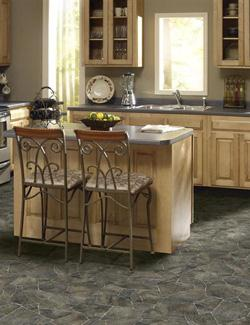 Luxury Vinyl Tile Flooring in Gurnee, IL.